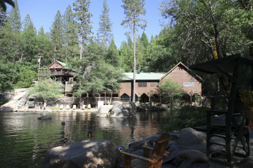 Berkeley's Tuolumne Family Camp Swimming Stream - California