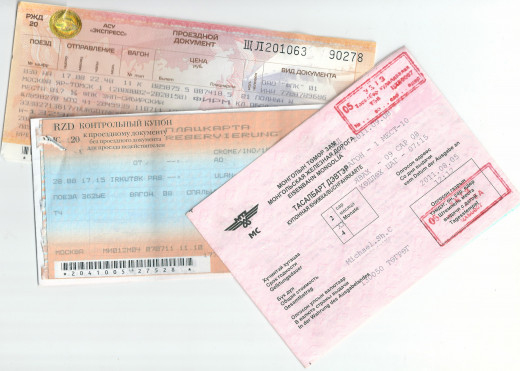 Just a sample of some of our many tickets...  about 16 in total to get both of us from Norwich to Beijing.