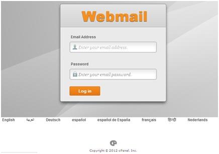 webmail login