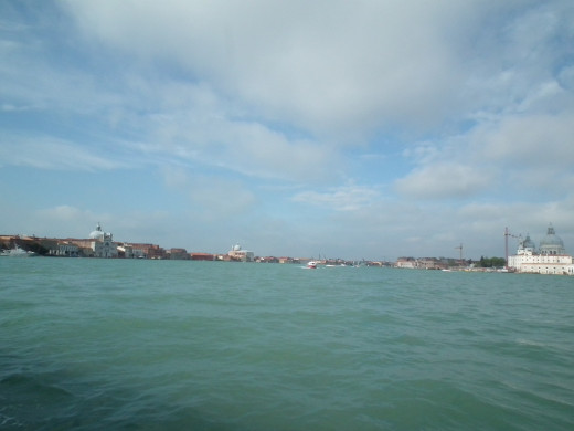 Venice and the water