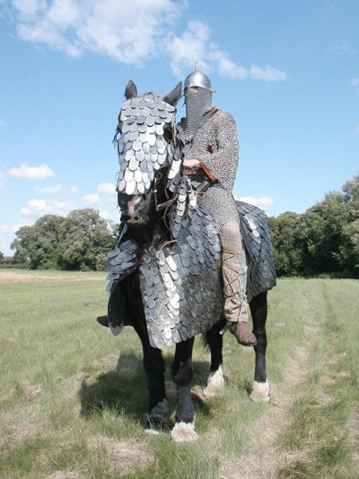 Pictured: Sasanian cataphract (knight).  Not pictured: Roman legions soiling themselves.