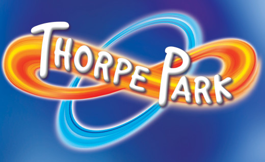 The official Thorpe Park logo. Most likely the very first thing that you will see when you enter the park.