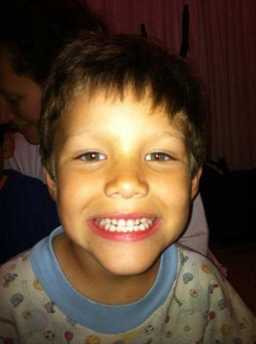 My youngest nephew