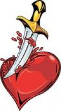 Tragic affliction of destroying one's own beating heart.