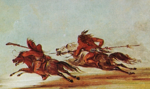Long before biker gangs, the Comanches mastered the art of the high-speed chase.