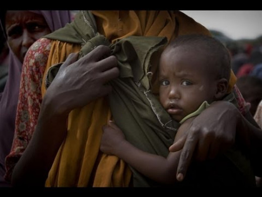 Thousand kids in the Horn of Africa  are dying by silent killer:FAMINE !