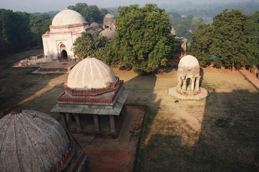 Hauz Khas Madarsa and Firoz Shah Tomb