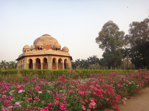 Flowers and Monuments, Lodi Garden