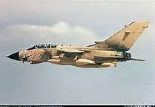 British Panavia Tornado GR1