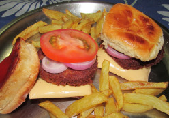 Rajma Burgers:  Vegetarian Burgers with an Indian Flare