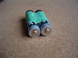 Don't tape batteries together