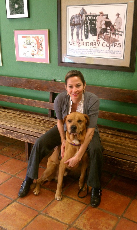 Friends like Jessica, who does wonderful volunteer work in dog rescue, are easy to feel grateful for.