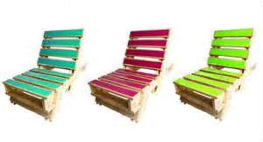 How to make a chair out of wooden pallets
