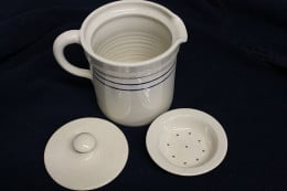 Stoneware bacon grease crock from Cottage Craft Works