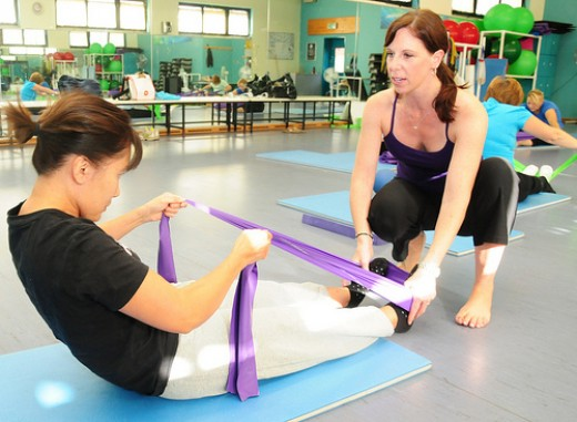 Strengthening core muscles, as is done in Pilates, may help to ease acute and chronic back pain.