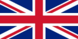 The official flag for the United Kingdom.