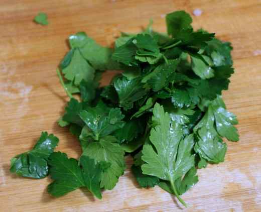 If you don't have fresh parsley, you can substitute dried parsley flakes.