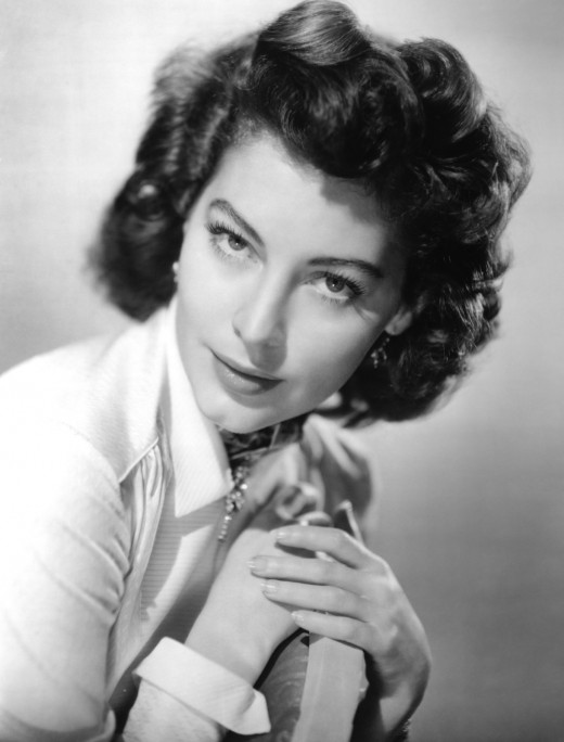 The gorgeous Ava Gardner