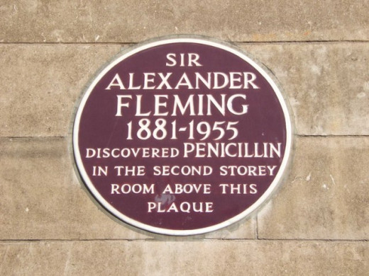 Alexander Fleming discovered Penicillin and has saved millions of lives world wide.