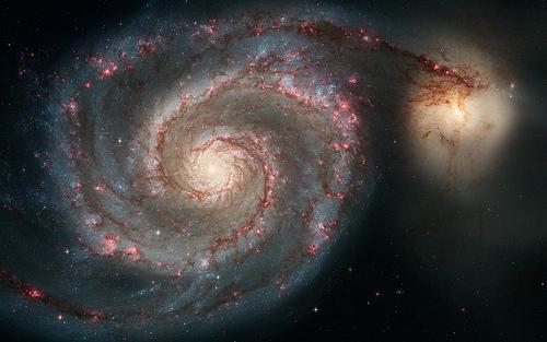 Whirlpool Galaxy in Canes Venatici