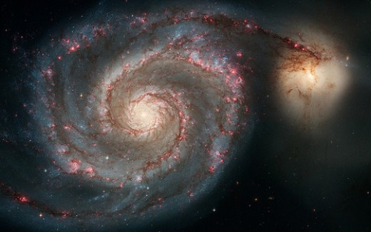 Whirlpool Galaxy in Canes Venatici
