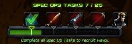 Spec Ops 6 Task List