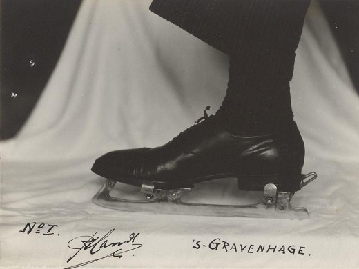 One of the Dutch inventions that changed ice-skating technology.