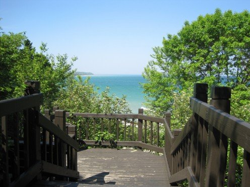 If this weather is nice for Mother's Day, why not head to one of Milwaukee's excellent beaches?