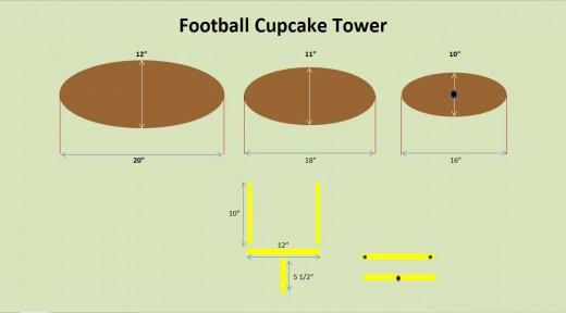 Cupcake Tower Plans