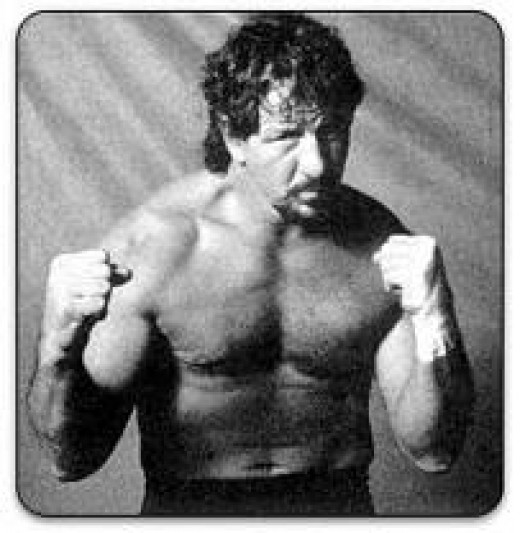Terry Funk was one of the top wrestlers in the history of Extreme Championship Wrestling. Blood or broken bones never stopped Terrible Terry.
