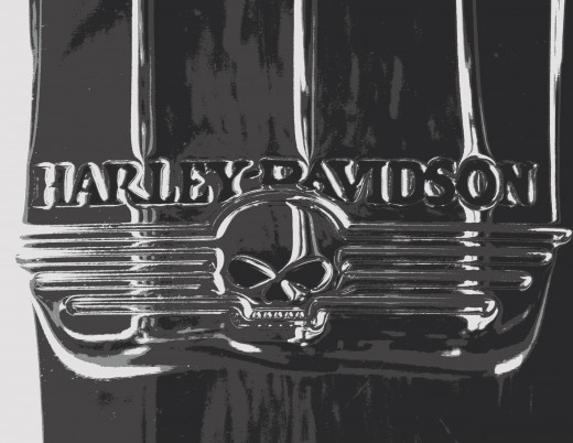 "Ghost Rider's ""Hell Cycle"" was a Harley Davidson."