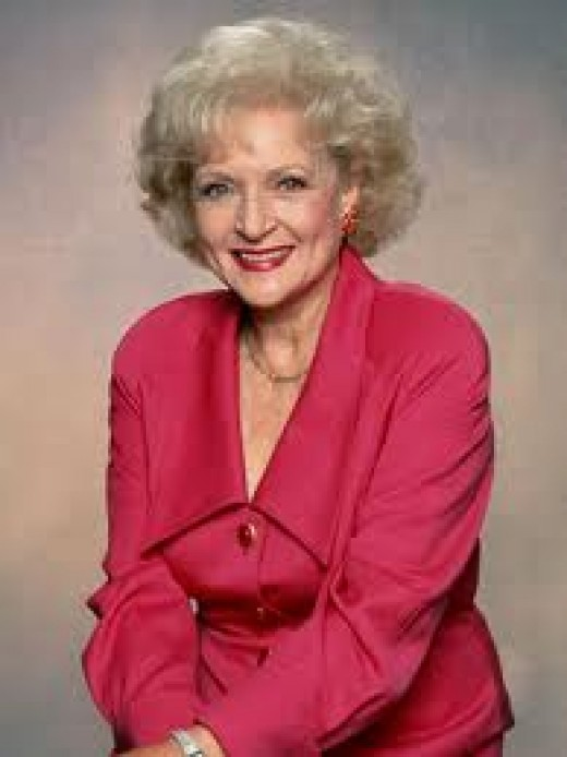 (3) Television Legend Betty White