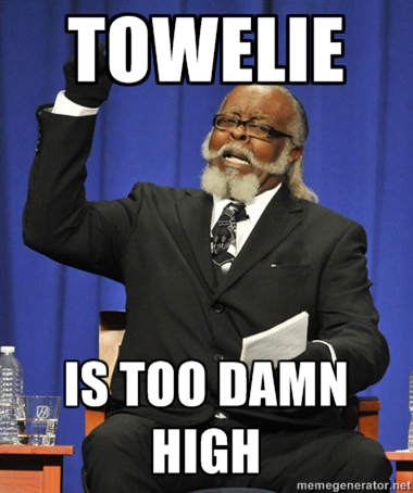 Towelie is too damn high