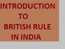 Introduction to British Rule in India