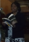 M.C. of AToJC Women's Choir program, sharing a poem from each of my books 4/29/12