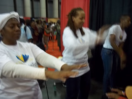Noble Touch Healing Team at NYC COS event 10/6/12