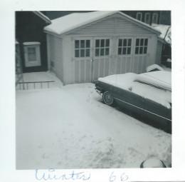 A snowstorm in Queens in 1966.