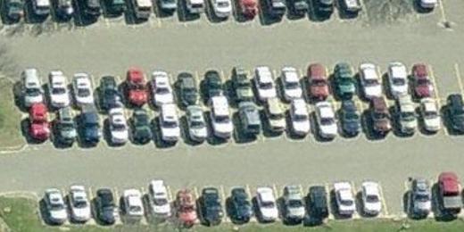 Rogers Park Middle School parking lot, Danbury, CT