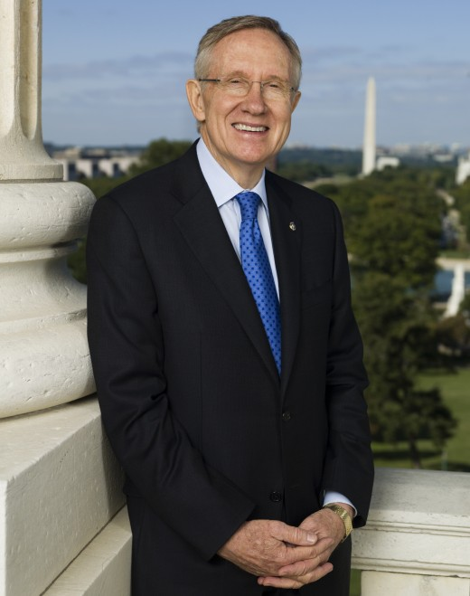 Senate Majortiy Leader Harry Reid (D-NV)