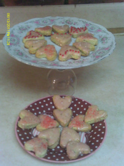How to Make Pistachio Scones with Sweet Rose Frosting