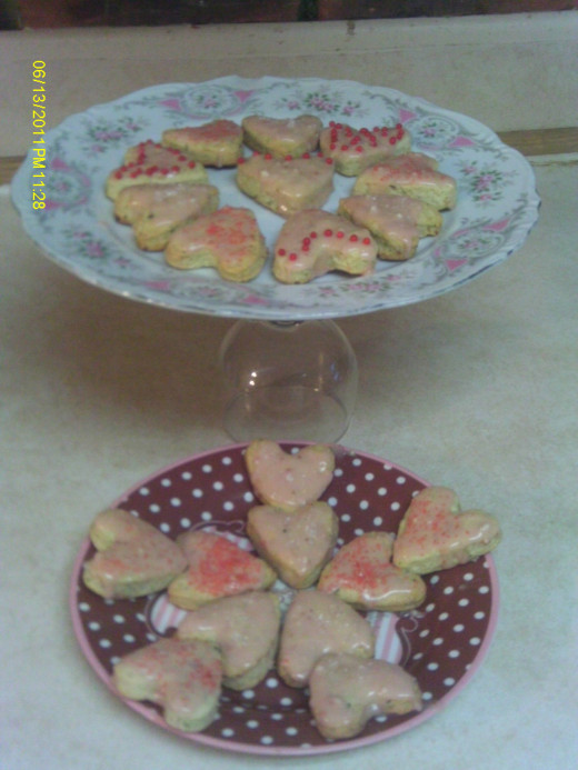 Pistachio Scones make a tasty treat