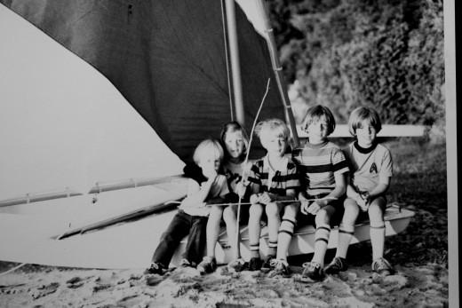 Cousins at Glen Lake