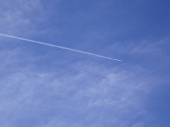 Cloud Seeding - Went out for a walk just now, and lo and behold, they were cloud seeding right above my head in Pasadena CA (02/01/13). They were small planes, low enough to be seen.