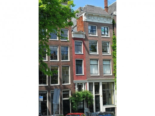 Smallest and skinniest house in Amsterdam