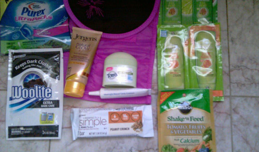 Free Name Products I Received.