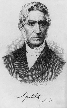 Adolphe Quetelet, the father of the Body Mass Index