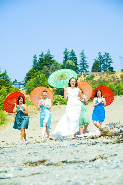 Bridal Parasols