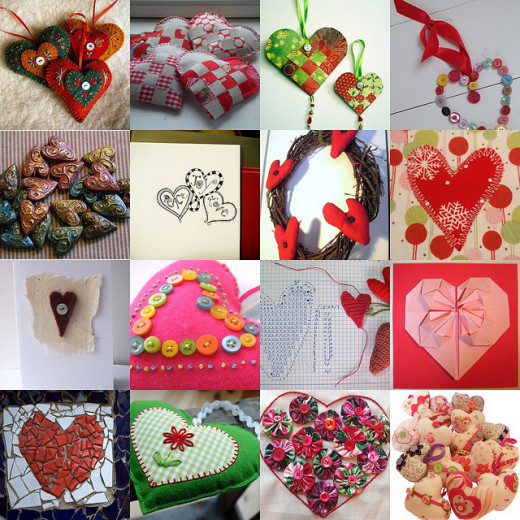 Valentine s day valentine 39 s arts and craft tutorials for for Valentine day arts and crafts