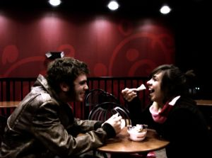 Meeting the right girl can happen anywhere.