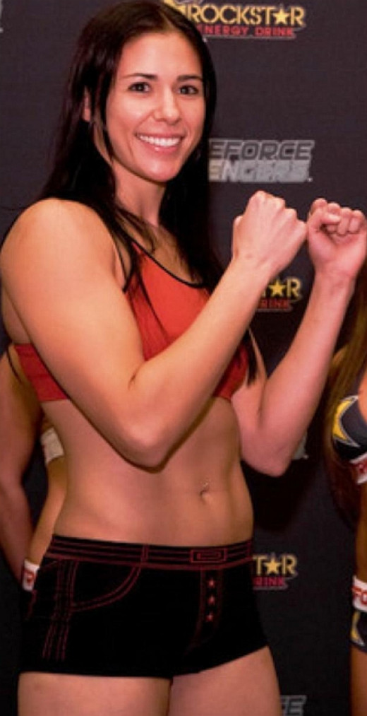Female MMA fighter Kerry Vera